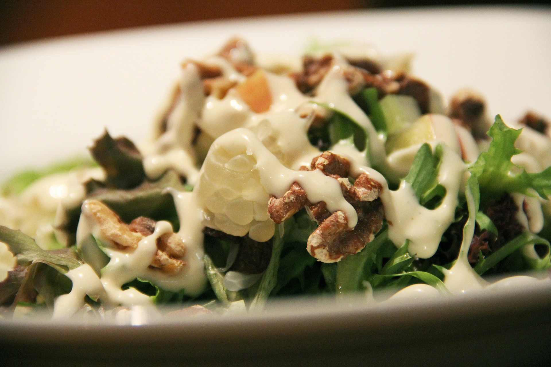 salad with dressing (1)