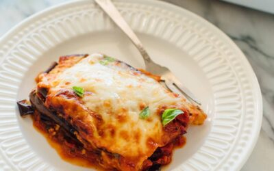 Eggplant Parmesan that's healthier and simple to prepare