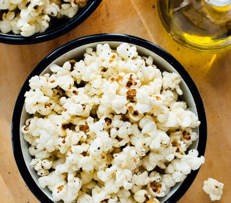 Make your own perfect stovetop popcorn